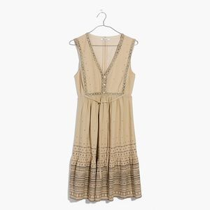 ✨MADEWELL✨Quilted sidetie dress in moroccan desert